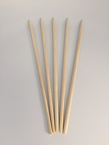 KingSeal Natural Birch Wood Corn Dog Skewers, Sticks, 8.75 Inches, 4.5mm diam - 1000 Count