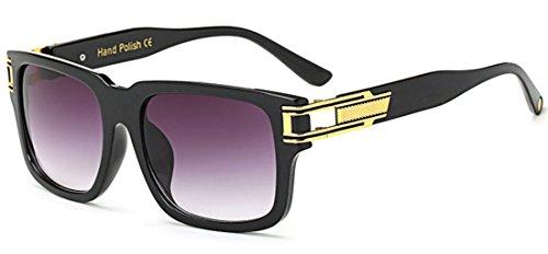 nouveaux de de les soleil les soleil grand Sucatle carré hommes Les Sucatle lunettes mode femmes universelles et lunettes 5qFxpRxwn
