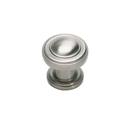 Atlas Round Knobs - Atlas Homewares 313-BRN Bronte Round Knob, Brushed Nickel