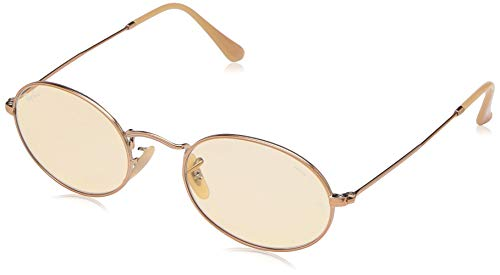 - Ray-Ban Polarized Oval Sunglasses, Copper, 57.0 mm
