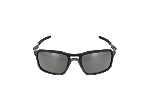 Oakley Men's (a) Triggerman OO9314-01 Rectangular Sunglasses, Matte Black, 58.5 mm