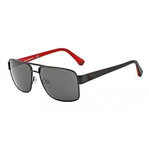 Emporio Armani EA 2002 Men's Sunglasses Matte Black 57