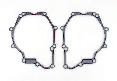 Areyourshop 2 PCS Stator Engine Cover Gasket Fit for Yamaha YZF R6 Stator Cover