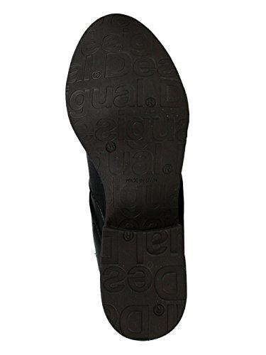 DESIGUAL Femme Designer Top Boot Biker Boots Chaussures - ROMANTIC GIRL -