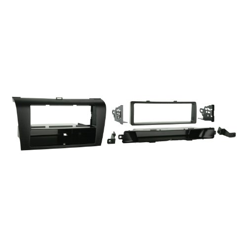 Metra 99-7504 Single DIN Installation Dash Kit for 2004-2009 Mazda 3 -Black