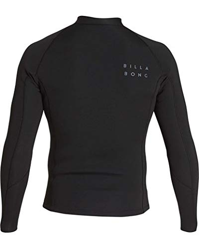 Billabong Men's 2/2 Revolution Pump Front Zip Jacket Black Small