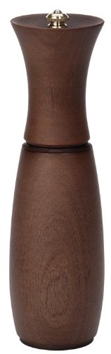 Fletchers' Mill Border Grill Pepper Mill, Walnut Stain - 8 Inch, Adjustable Coarseness Fine to Coarse, MADE IN U.S.A. made in New England