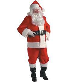 Halco Kris Kringle Suit Plus Costume 2X Red (Santa Costume Rental)