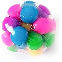 لعبة كرة ضغط للتفاعل بكرات ملونة من الداخل