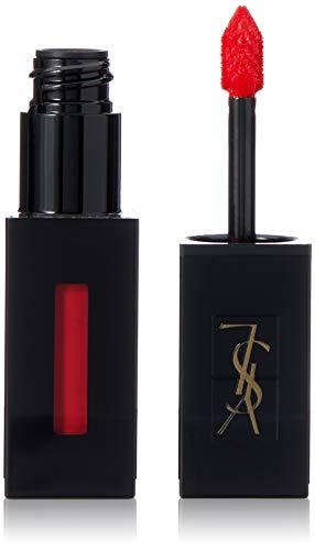 Yves Saint Laurent Vernis A Levres Vinyl Cream Lip Stain, 411 Rhythm Red, 0.18 Ounce