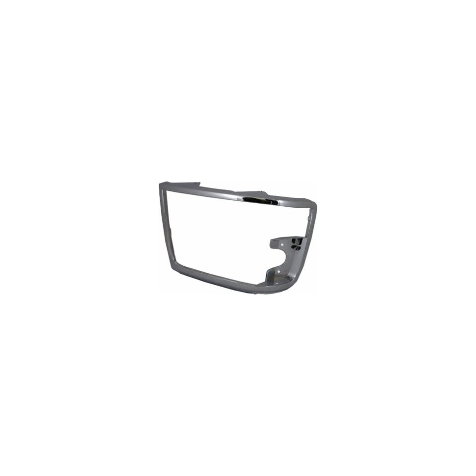 QP F0749 b Ford F250 Chrome Passenger Headlight Door Grille