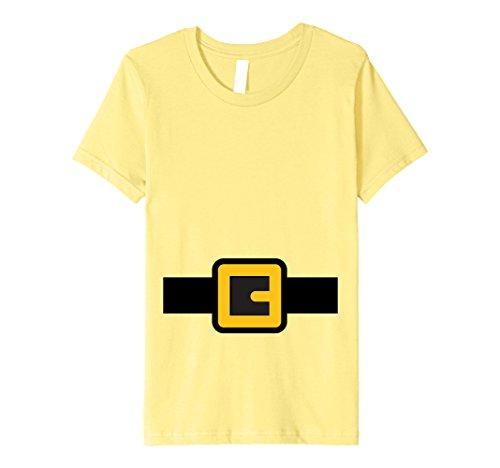 Kids Dwarf Costume Shirt, Halloween Matching Shirts for Group 12 Lemon -