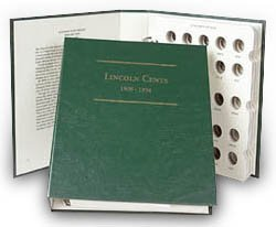 Littleton Lincoln Wheat Cents 1909-1958 Album LCA1