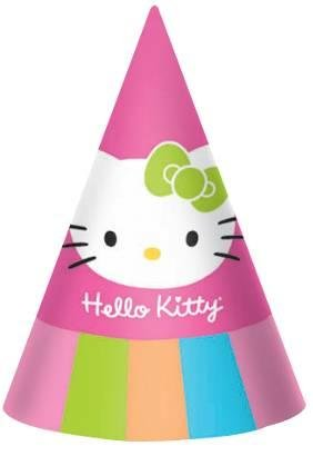 f868b238a Image Unavailable. Image not available for. Colour: Hello Kitty Party Hats  Birthday ...
