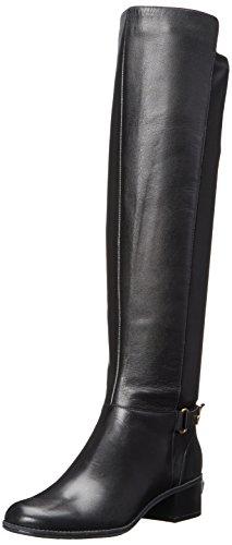 Bandolino Women's Cuyler Leather Riding Boot, Black, 6 M (Bandolino Leather Platforms)