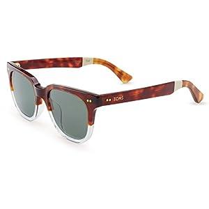 Toms Sunglasses 0010005474 Memphis 201 Tortoise Crystal Fade Polarized 10005474