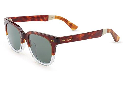 Toms Sunglasses 0010005474 Memphis 201 Tortoise Crystal Fade Polarized - Sunglasses Memphis