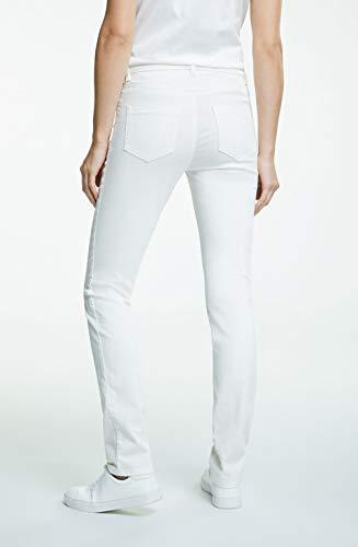 Oui Mujer Oui Pantalón Crema Pantalón Para qwUq5rI