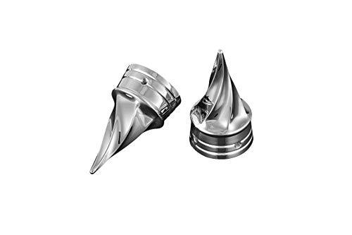 - Kuryakyn 07-10 Softails Twisted Axle Caps 1219 New