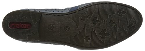 Rieker L0554 Damen Sneakers Blau (Blau)