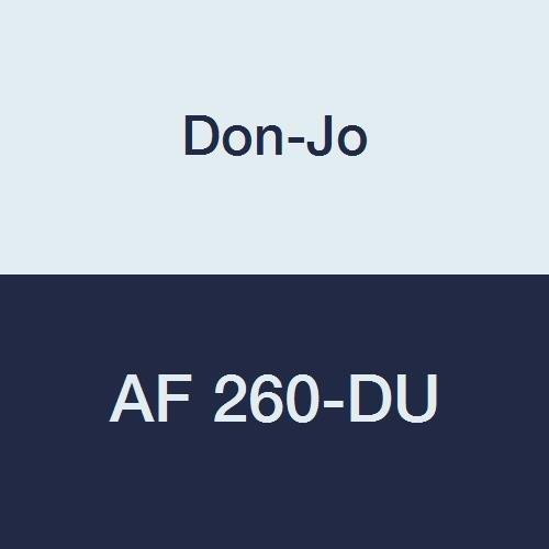 Plate Coated Filler (Don-Jo AF 260 13 Gauge Steel Electric Strike Filler Plate, Duro Coated, 1-1/4