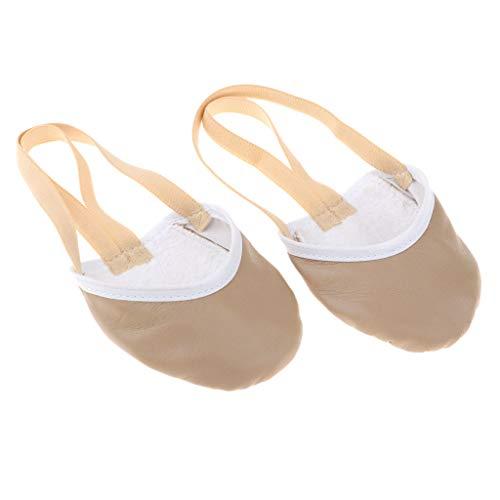 Ginnastica Scarpe Ballet Balletto Paia F 5 Pelle Shoes Pantofole Accessori Ritmica Danza Fityle Di xFYBFSwqv