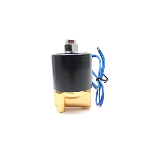 ZXHAO 1/4 inch Electric Solenoid Valve AC 110V Water Air Gas NC 2W-025-08