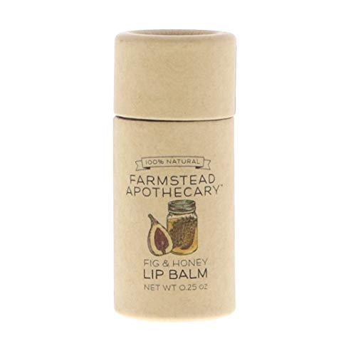 Farmstead Apothecary, Lip Balm Fig Honey, 0.25 Ounce