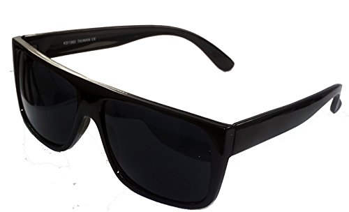 Classic Old School Super Dark Lens Locs - Locs Sunglasses Womens