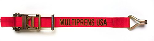 (Multiprens 5336-30-RED Red Ratchet Strap 3