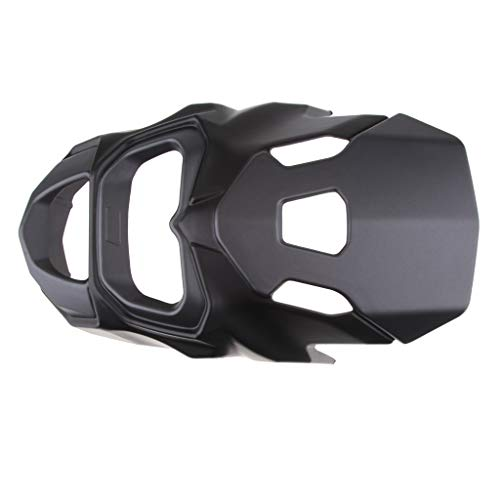 Baosity Headlight Front Upper Cowl Cover Windshield for Honda Grom MSX125 - Black