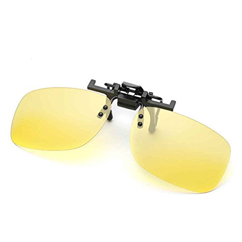 Clip Clip 5 en Up 5 métal Fashion Lunettes Flip on Polarized de Hommes Soleil Aiming de Square ASqI4I