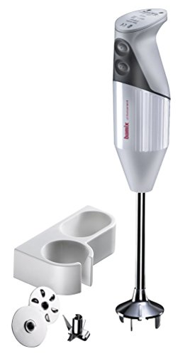 Bamix Pro-1 M150 Professional Series NSF Rated 150 Watt 2 Speed 3 Blade Immersion Hand Blender with Wall Bracket