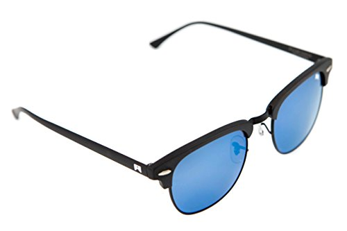 William Painter- The Empire Polarized Clubmaster Sunglasses (Black & - William Painter