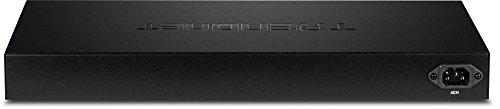 Trendnet 16-Port Gigabit Web Smart PoE+ Switch, 16 x Gigabit PoE+ Ports, 4 x Shared Gigabit Ports (RJ-45 or SFP), VLAN, QoS, LACP, IPv6 Support,185 W Power Budget, TPE-1620WS by TRENDnet (Image #2)