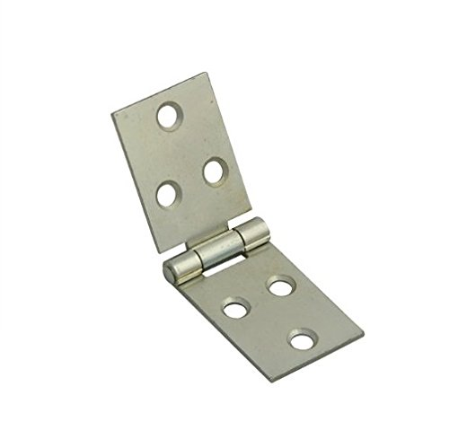 Bulk Hardware BH03847 Backflap Hinge, Self Colour, 38 mm (1.1/2 inch) - Pack of 2 Bulk Hardware Limited