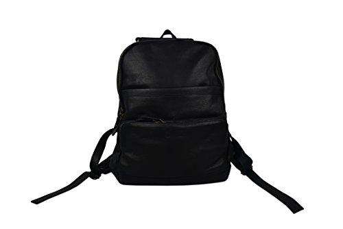 di pelle 37x34x13 in naturale nero in Premium retro Zaino Misure borsa cm Zerimar pelle Tipo Messenger vintage wxTPqY6H