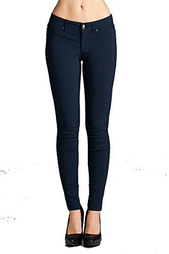 YourStyle Stretch Skinny Basic Pants-Ultra Stretch Comfy Pants