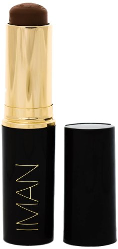 IMAN Cosmetics Second To None Stick Foundation, Dark Skin, Earth 7