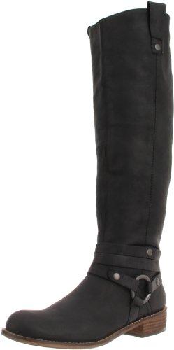 Boot by US nubuck Black 5 Steve Black 5 Stingrey Women's Madden M Nubuck STEVEN XdwpqX