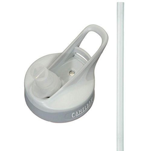 Helmet Replacement Mouthpiece (CAMELBAK EDDY CAP WITH BITE VALVE AND STRAW (LIGHT GREY))