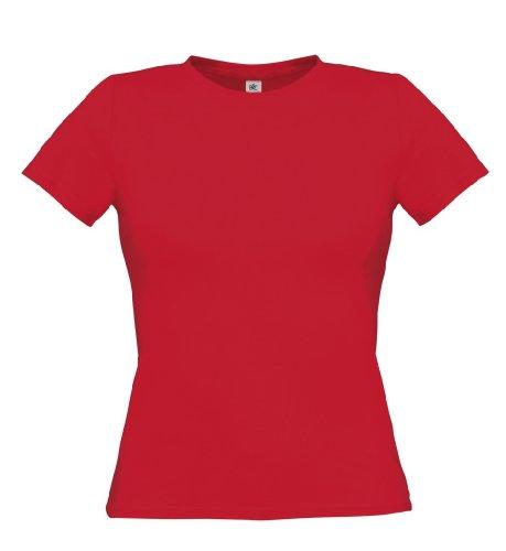 T-shirt 'women only'/ couleur :  deep red/xL/taille :  xL-deep red