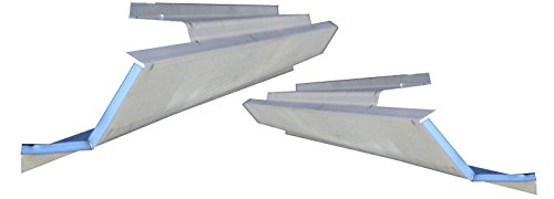 - Motor City Sheet Metal - Works With 1999-2004 Chevrolet Chevy Geo Tracker & Suziki Vitara Rocker Panel 2 DOOR PAIR