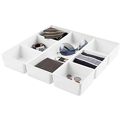 Amazon.com: Hebel Plastic Dresser Drawer Storage Tray, 7 ...