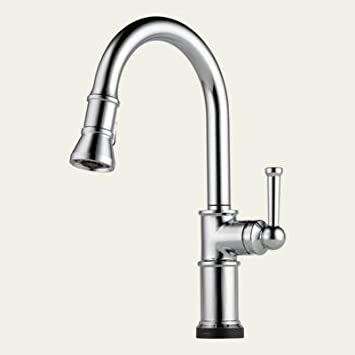 Brizo 64025lf Ss Artesso Single Handle Pull Down Kitchen Faucet
