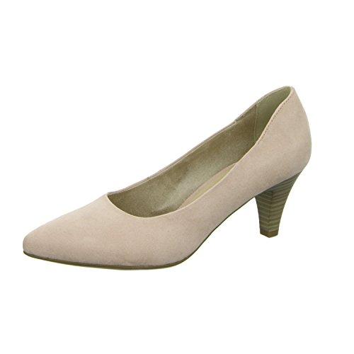 Tamaris - Zapatos de vestir de Material Sintético para mujer Rojo - Rot (Rose)