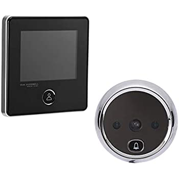 Hardware Back To Search Resultshome Improvement Straightforward 2.4 Inch Lcd Smart Digital Door Viewer Camera 160 Degree Viewing Angle Door Eye Video Record Peephole Viewer Doorbell Fine Quality