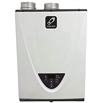 Takagi T-H3-DV-P Condensing High Efficiency Propane Indoor Tankless Water Heater, 10-Gallon Per Minute