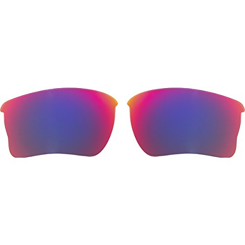 Oakley Quarter Jacket Replacement Lens Oo Red Irid, One - Sunglasses Oakley Cycling