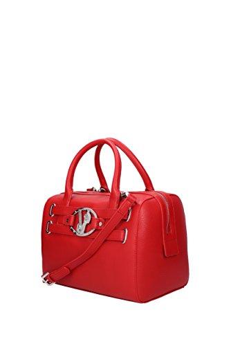 Versace a Mano Donna E1VQBBJ575476 Poliestere Jeans Rosso Borse znrOrx